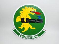 25th Fighter Squadron Assam Draggins Plaque