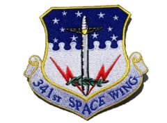 341st Space Wing Patch – Plastic Backing