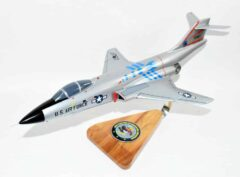 60th Fighter Interceptor Squadron 1970 F-101B Voodoo Model