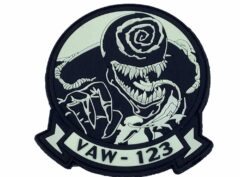 VAW-123 Screwtops Venom PVC Patch – with Hook and Loop
