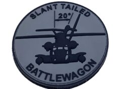 CH-53 Slant Tailed Battlewagon PVC Patch – Hook and Loop