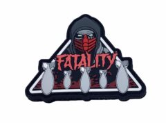 Ordnance Fatality PVC Patch – Hook and Loop