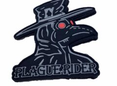 HMLA-267 Plague Rider PVC Patch – Hook and Loop