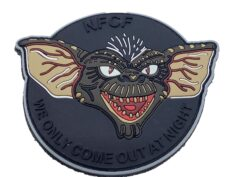 """Night FCF """"We Only Come Out at Night"""" PVC Patch – Hook and Loop"""