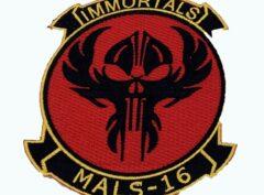 MALS-16 Immortals Patch – No Hook and Loop