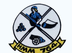 HMM-764 Squadron Patch – No Hook and Loop