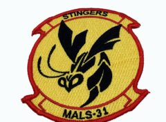 MALS-31 Stingers Patch – No Hook and Loop