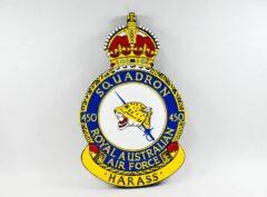 No. 450 Squadron RAAF Plaque