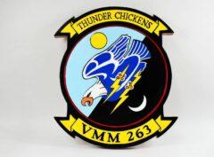 VMM-263 Thunder Chickens Plaque