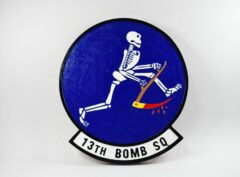 "13th Bomb Squadron ""Grim Reapers"" Plaque"