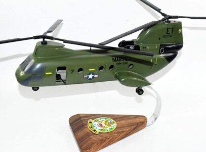HMM-262 Flying Tigers 1968 153316 CH-46 Model