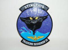 VT-35 Stingrays Navy Plaque
