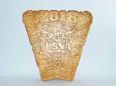USNA Class of 2018 Crest Plaque