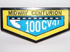 Midway Centurion Plaque