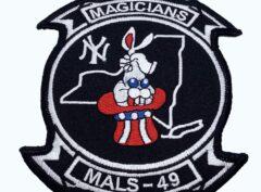 MALS 49 Magicians Patch – No Hook and Loop