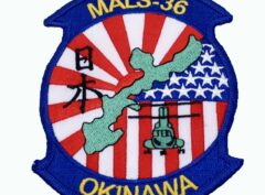 MALS 36 Okinawa - Patch – No Hook and Loop