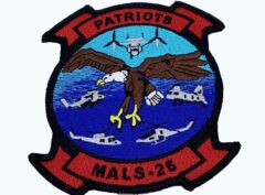 MALS-26 Patriots Patch – No Hook and Loop