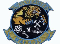 """4"""" MALS-29 Wolverines 2018 Patch – With Hook and Loop"""