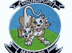 MALS-39 Hound Pups Patch – With Hook and Loop