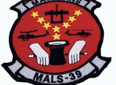 MALS-39 Magicians CH-46 Patch – No Hook and Loop