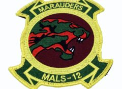 MALS 12 Marauders Patch – With Hook and Loop