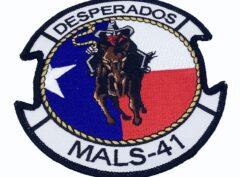 MALS 41 Desperados Patch – No Hook and Loop