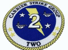 Carrier Strike Group 2 Patch – No Hook and Loop