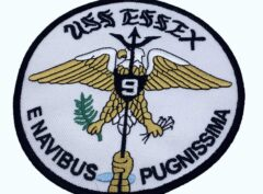 USS Essex LHD-2 Patch – No Hook and Loop