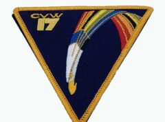 Carrier Air Wing CVW-17 Patch – No Hook and Loop