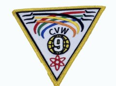 Carrier Air Wing CVW-9 Patch – Sew On
