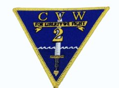 Carrier Air Wing CVW-2 Patch – No Hook and Loop