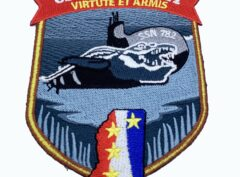USS Mississippi (SSN-782) Patch – Plastic Backing