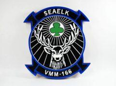 VMM-166 SeaElk Plaque