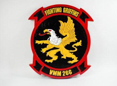 VMM-266 Fighting Griffins Plaque