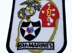 6th Marines Patch – No Hook and Loop