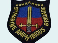 9th Marine Amphibious Brigade MAB Patch – No Hook and Loop