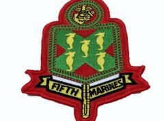 5th Marines Patch – No Hook and Loop