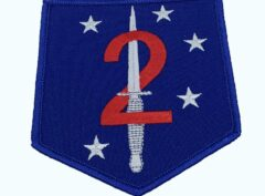 2nd Raider Bn Patch – No Hook and Loop