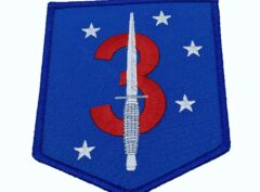 3rd Raider Bn Patch – No Hook and Loop