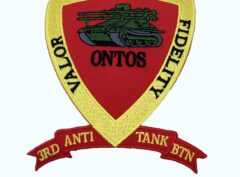 3rd Anti-Tank Bn Patch – No Hook and Loop