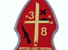 3rd Bn 8th Marines Patch – No Hook and Loop