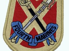 4th Marines Patch – No Hook and Loop
